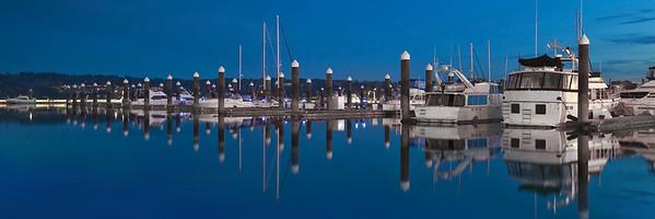 Marina Reflections- 12x36