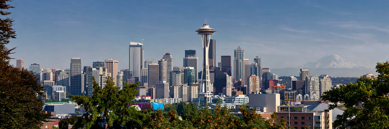 Seattle Pano 12x36