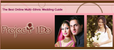 "<a href=""http://projectido.com"">Project I Do</a> -- an excellent site that is dedicated to answering the wedding planning needs of Asian-American, African-American, Hispanic/Latino-American, Middle Eastern-American, and South Asian-American couples:    http://www.projectido.com."