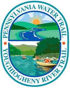 This is artwork that I created for the Pennsylvania Environmental Council to create the logo for the Pennsylvania Water Trail Maps