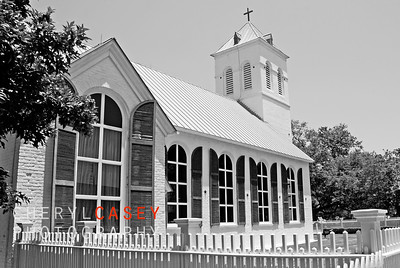 Historical Old Christ Church in Seville Square, Pensacola Florida