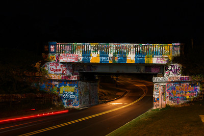 "Pensacola's famous ""Grafitti Bridge"""