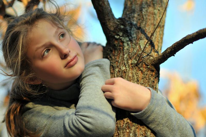 140111 Mary in tree 1