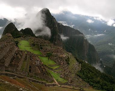 Machu Pichu at dawn