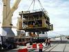 PPB topside loading onto MV Annegret. It's tiny ;)