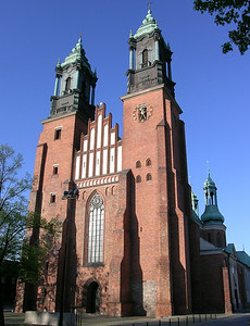 Cathedral of Ostrow Tumski - burial place of Poland's first king, Boleslaw Chrobry