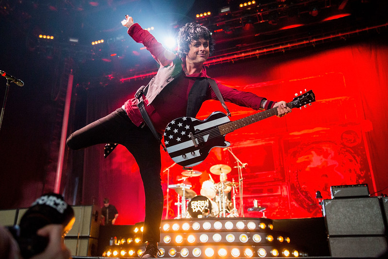 Green Day Performs At White River Amphitheatre