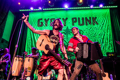 Gogol Bordello @ Neptune Theater in Seattle, WA
