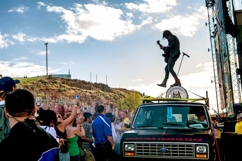 Reignwolf @ Sasquatch Music Festival 2013