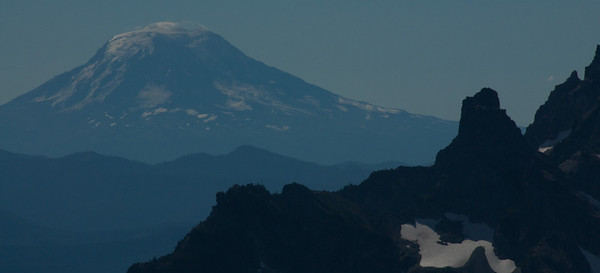 Mount Adams as seen from Sunrise on Mount Rainier.