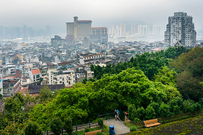 Macau Cityscape from Monte Fort