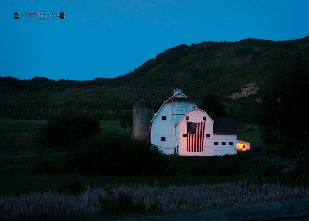 Taken at dawn, near Park City, Utah (2014)
