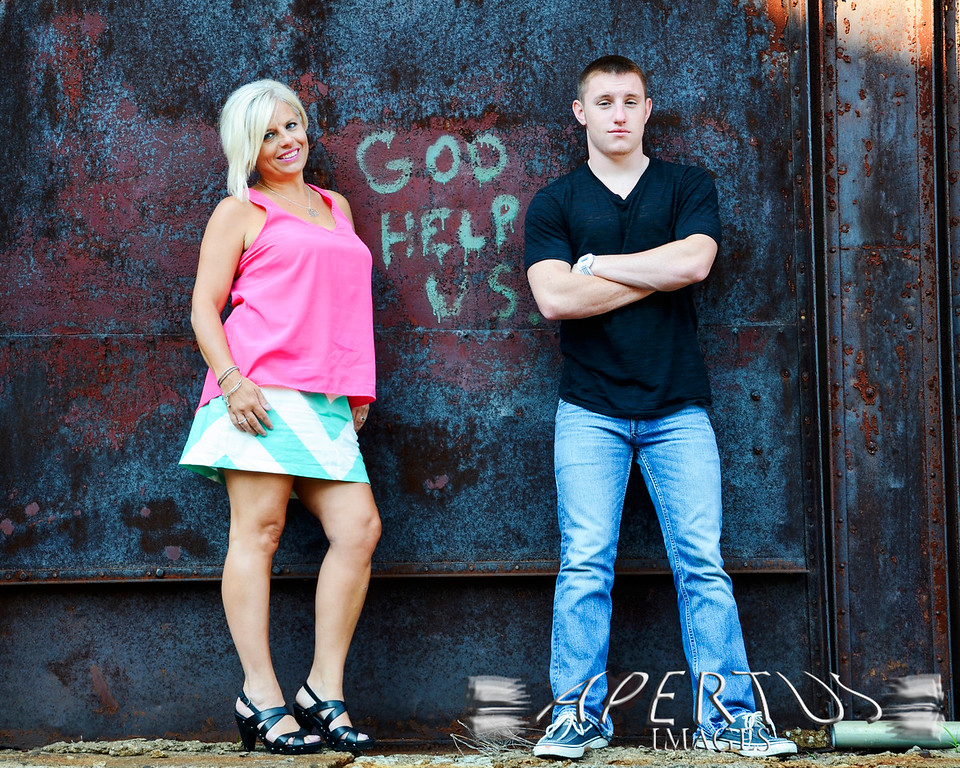 Stephanie (mother) & Josh (son): Taken in Louisville, KY (2013)