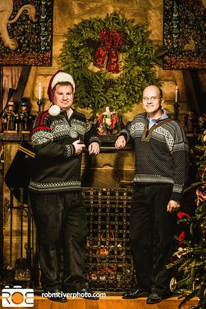 2012-12-09 Chad and Michael Xmas