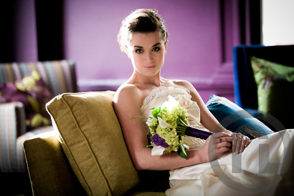 Posh Bridal Session