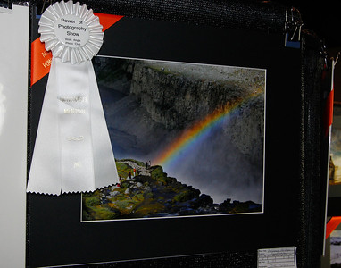 "Judi's Honorable Mention for ""Rainbow Bridge"" in Landscape."