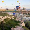 Balloons Over Cappodocia --- Harry
