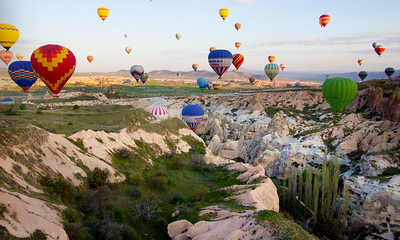 Balloons Over Cappodocia --- Harry