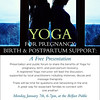 "Poster for RYT & Doula Maria Orvola by Camden Design <a href=""http://www.wholelifeyogaarts.com/"">http://www.wholelifeyogaarts.com/</a>"