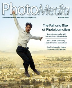 "<H2>Photo<em>Media</em> Magazine, Fall 2009</h2> This issue's <a href=""http://www.photomediaonline.com/?p=1163"">Shot in the Back</a> featured Rob's approach to night photography and his novel techniques for light painting dynamic landscapes."