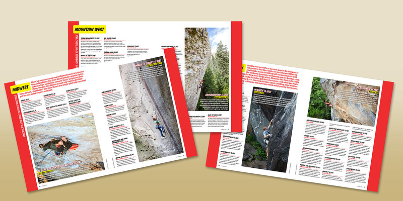 Climbing Mag (America's 100 best Routes), Sept 2015