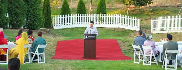 Omar Assad, member of Ahmadiyya Muslim Community.