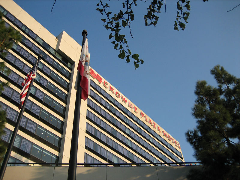 Crown Plaza hotel in Silicon Valley