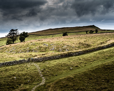 4. Hadrian's Wall, Northumberland UK, as rebuilt by John Clayton in the nineteenth century. After Paul Nash.