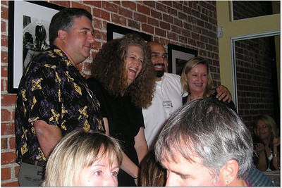 John De Koven, Robin, Parviz and Sheri (w/Lucinda Hayden and Gerry Benton in the foreground)