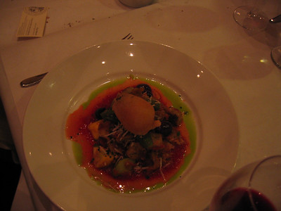 The Vegetarian Entree (goat cheese gnocchi)