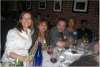 Lisa Haas, Sue de Guzman, Rob Berger, Marjorie Zimmerman and Sandy Benett (in the shadow)