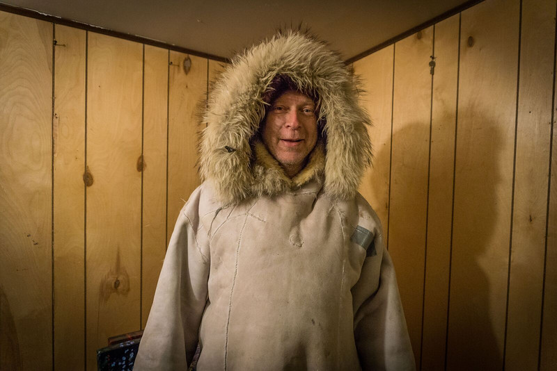 Authentic Inupiat parka