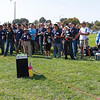 Sandisk Operations Team Volunteers. Manish Bhatia (SVP Worldwide Operations) on the microphone. Extreme right.