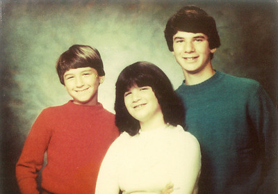 Steve, Mia, and Mike in the early 1980s.