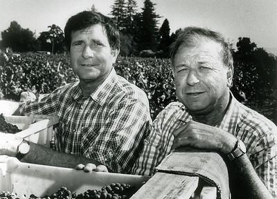 Bob and Angelo. the 80s.