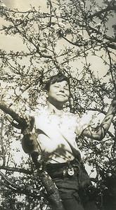 Bob (taken by Lorraine). Late 1940s.