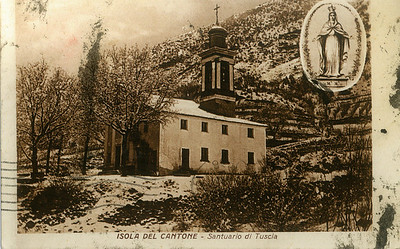 The church where Vittorio went to in Italy.
