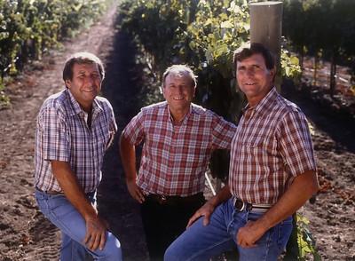 Buck, Angelo, and Bob... Late 80s.
