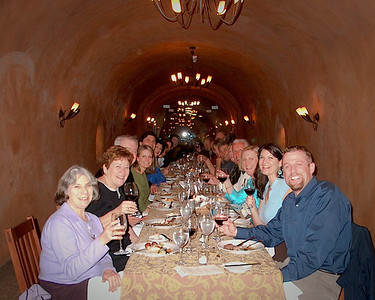Benziger Wine Caves in 2008.