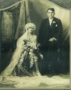May 28, 1928. Wedding photo of Maria Julia and Vittorio Sangiacomo.