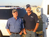 On September 10-12, 2010, Propane Exceptional Energy Hot Air Balloon Pilot, Philip Bryant and volunteer balloon crew veteran, Bill Tipton of Wylie LP Gas at the South Plains Balloon Roundup in Wolfforth (Lubbock) promoting safe grilling in time for tailgate season.