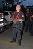 Squad 5 fireman Pat Noonan on a jumper call.