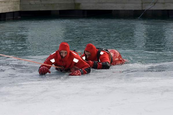 Ice Rescue Drill, Squad 1