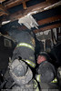 OVERHAUL: Still alarm 245 W. 107th St. Looking hidden fire in the cockloft 1/5