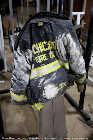 IT DOESN'T TAKE LONG TO GET FUNKY <br /> Squad 5 Fireman Corey Hojek's brand ...
