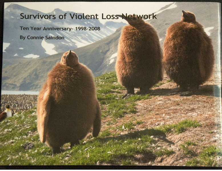 Survivors of Violent Loss Photo Book is available for purchase. Survivors of Violent Loss Ten Year Collection