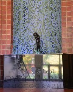 Calvert School (statue in Main Lobby LS), # DSC_7387