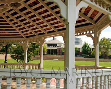 Gazebo on Calvert School grounds in the Spring, # DSC_0025