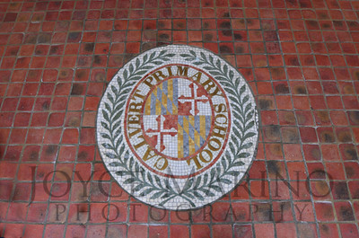 Calvert School seal in LS (horizontal) #  DSC_0450