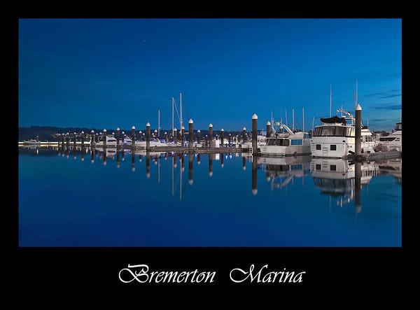 Bremerton Marina Poster-8-38